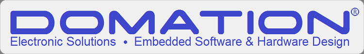 DOMATION - Electronic Solutions - Embedded Software & Hardware Design